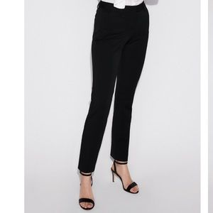 Express Ankle Mid Rise Dress Pant
